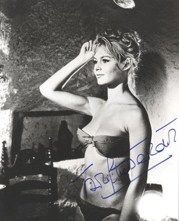 16: Brigitte Bardot Sexy Signed 11 x 14 Photo