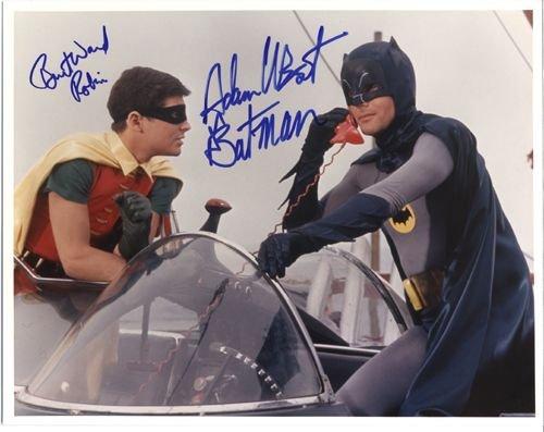 23: Batman Adam West Burt Ward Signed 11x14 Photo (B)