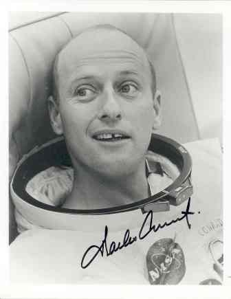 "555: Charles ""Pete"" Conrad Signed 8 x 10 Photo GAI COA"