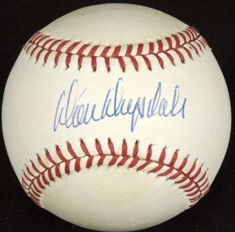 728: Don Drysdale Signed Baseball GAI COA