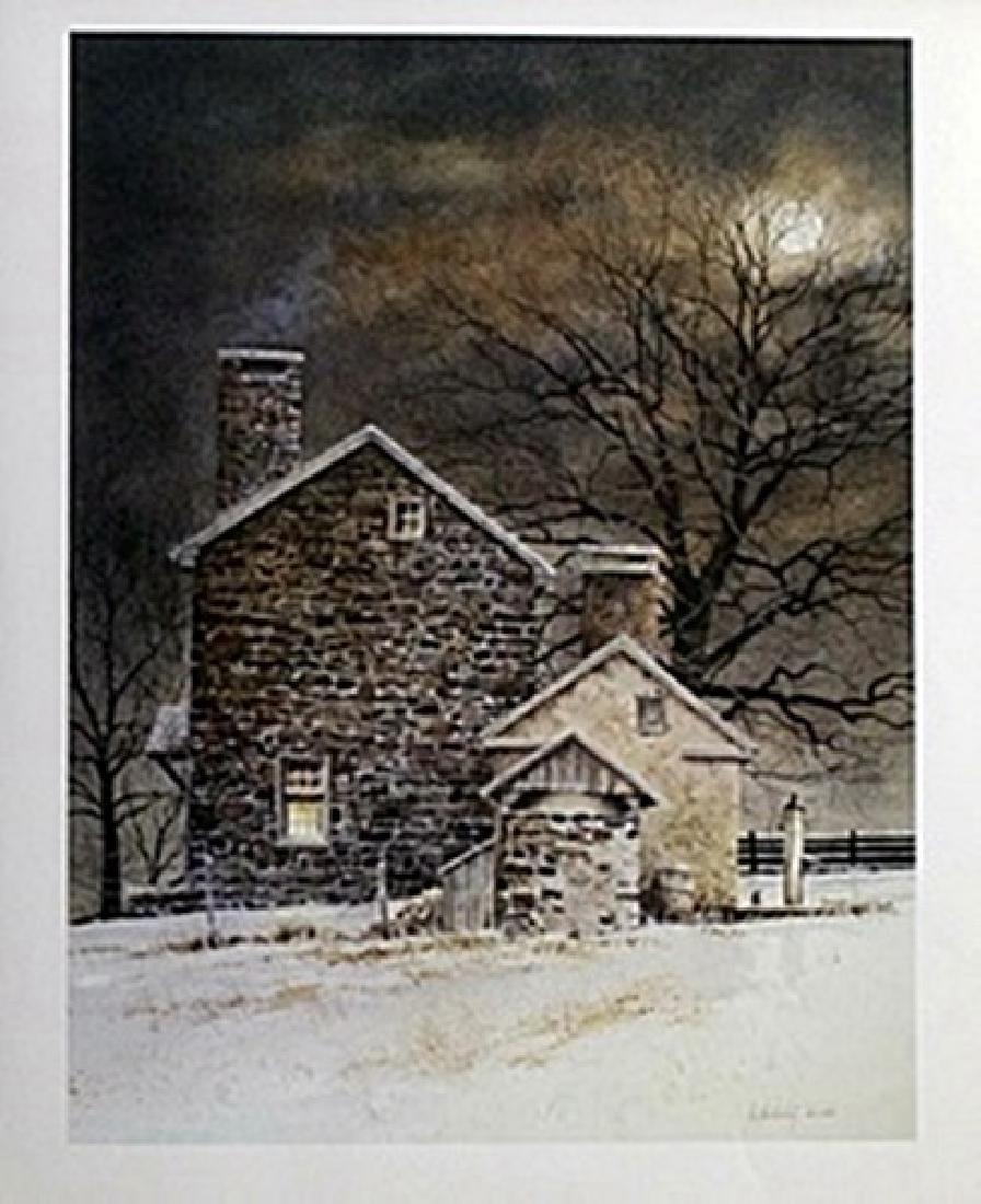 Print - Blue Moon - Ray Hendershot