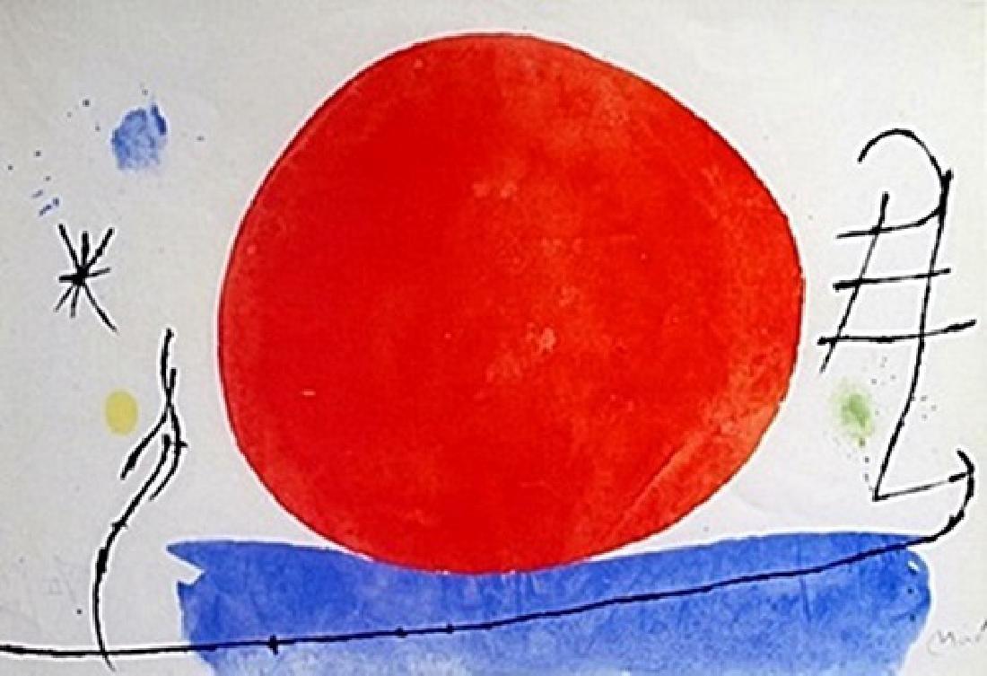Lithograph  Joan Miro (177A)