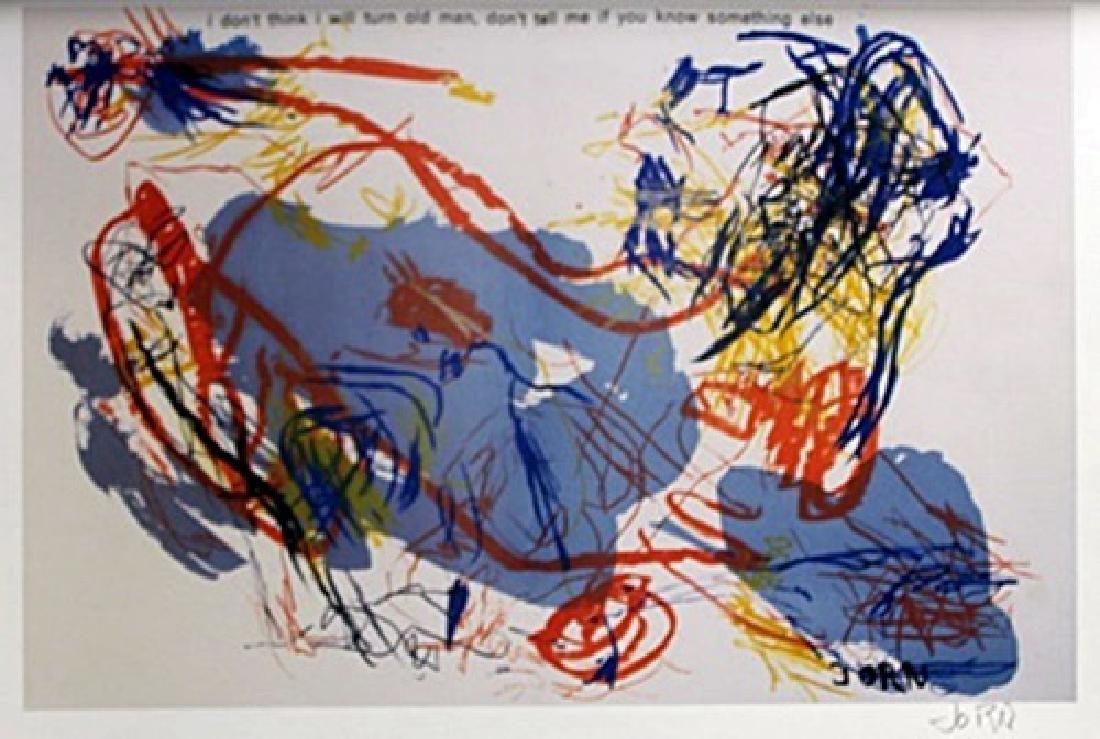 Lithograph  Asger Jorn (233A)
