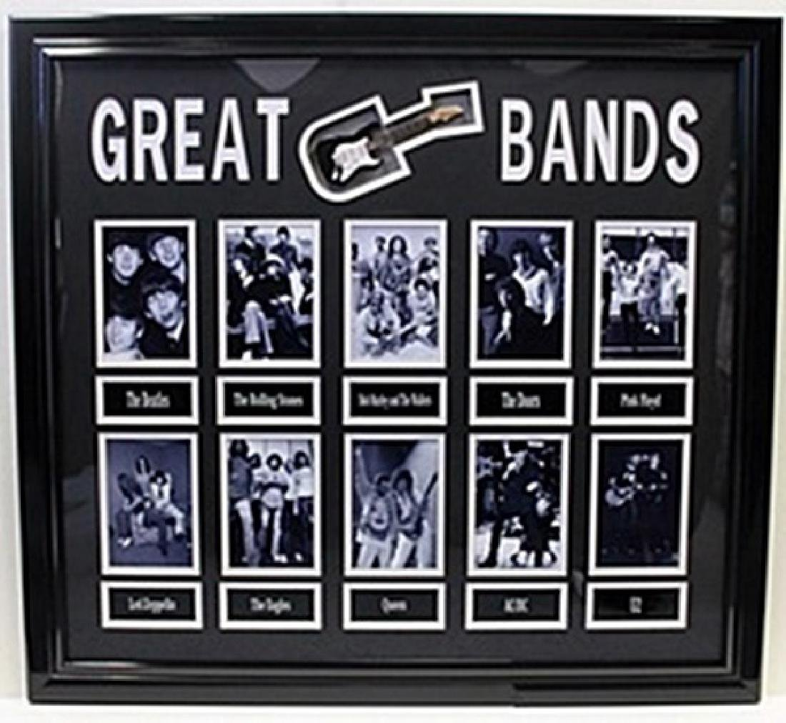 Great Bands - Custom Framed Memorabilia