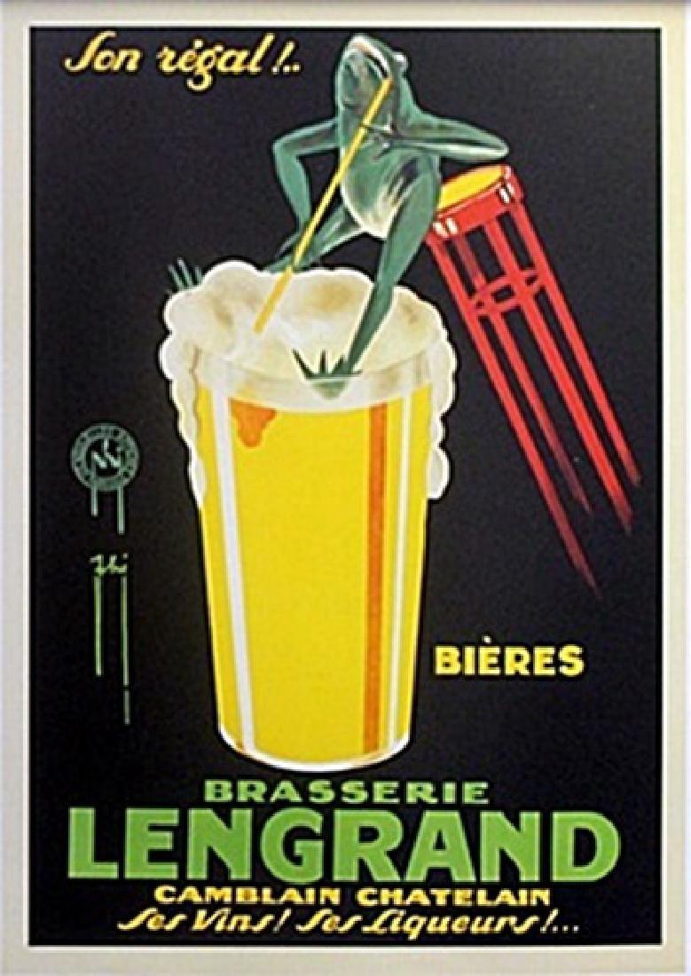 Poster - Son Regal! Bieres - Brasserie Lengrand