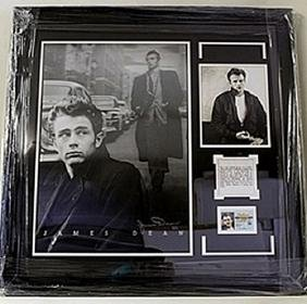 James Dean Giclee with Drivers Licence HE5082