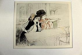 """Fortier & Marotte"" Lithograph by Leguard"