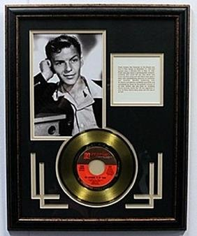"""""""The September of My Years"""" Frank Sinatra Gold Record"""