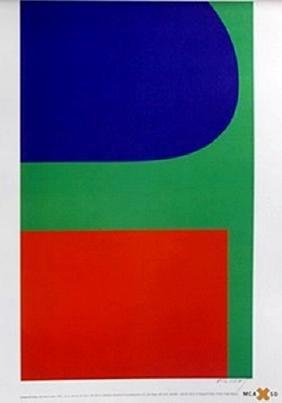 Print Red, Blue, Green 1963 - Ellsworth Kelly