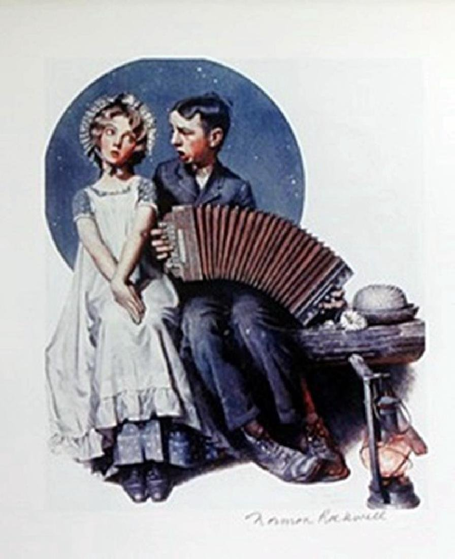 Lithograph - Norman Rockwell