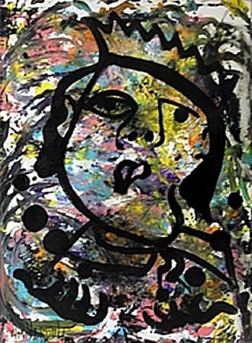 """Juggler"" Original Oil Painting William Verdult"