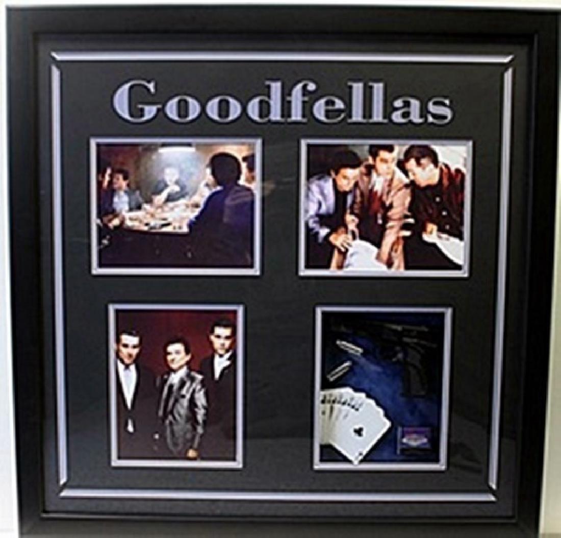 Goodfellas Movie Photo Collage W/ Model Gun, MatchBook,