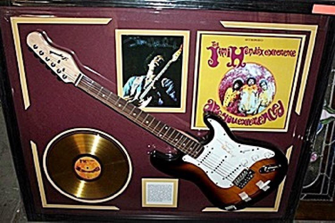 Jimi Hendrix Clapton Signed Guitar & Memorabilia