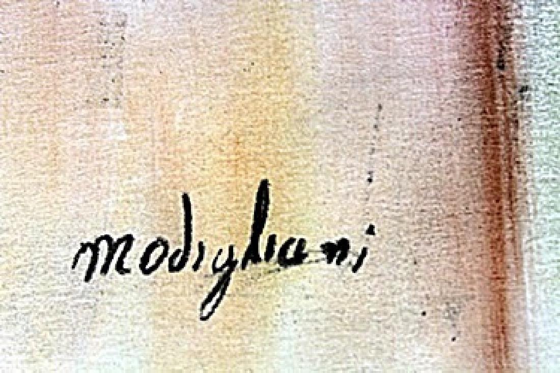 Pastel on Paper -  Amadeo Modigliani - 2