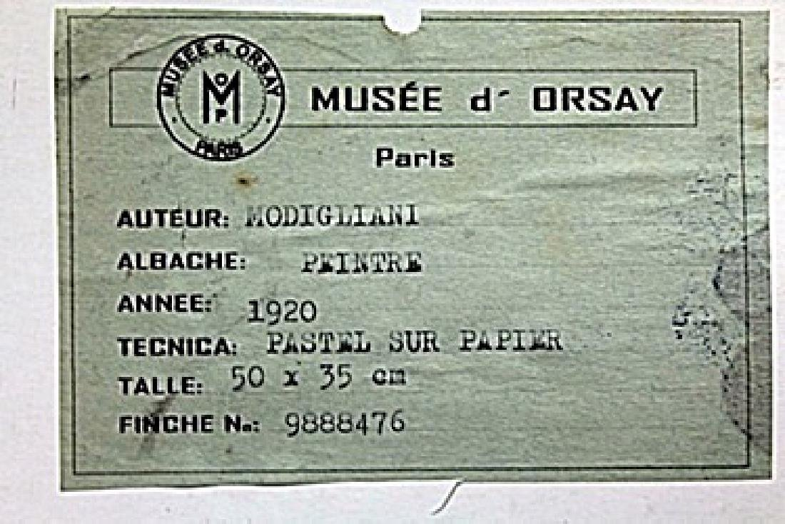 Pastel on Paper -  Amadeo Modigliani - 4