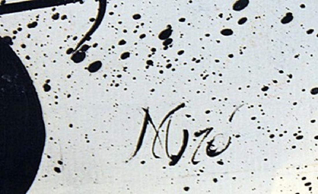 Bee - Joan Miro - Oil On Paper - 3