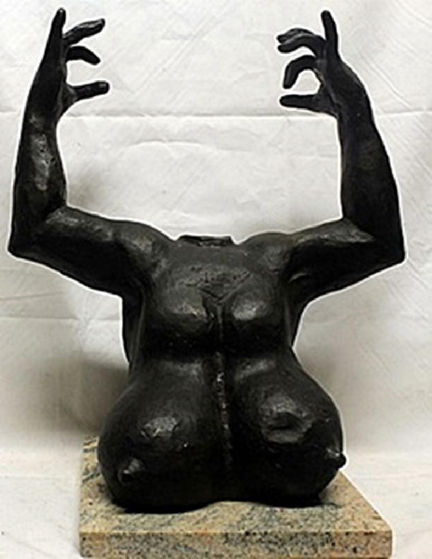Patina Bronze Sculpture  Gaston Lachaise