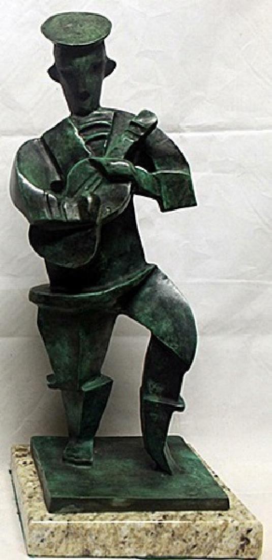 Patina Bronze Sculpture  Jaques Lipchitz