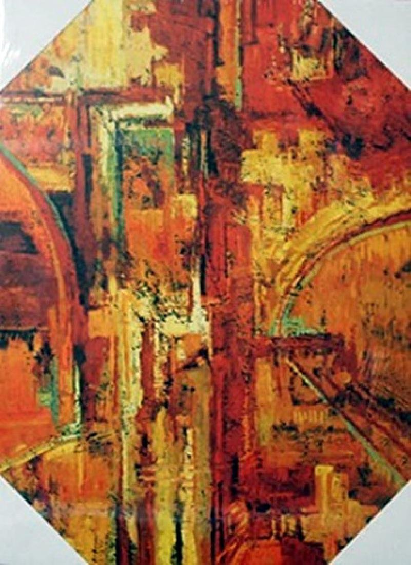 """Giclee on Canvas """"Blurred Vision"""""""