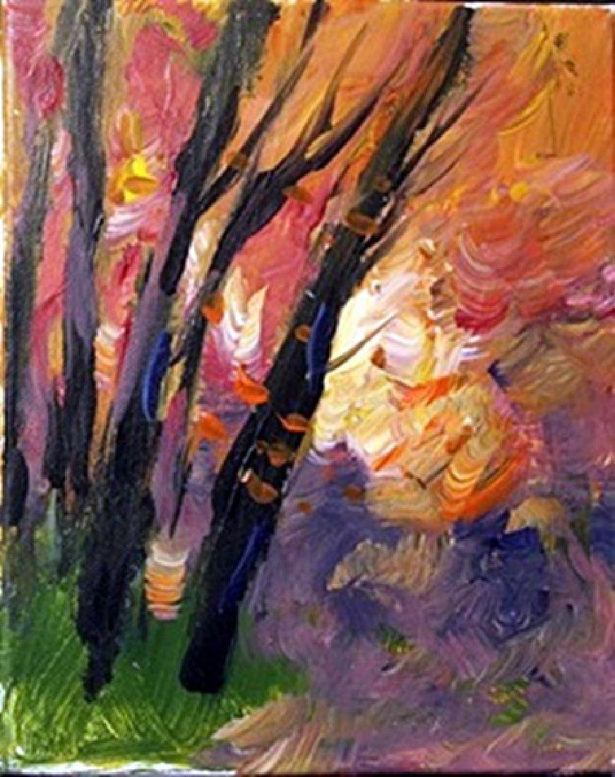 "Acrylic on Canvas ""An Evening in Fall"" by Michael"