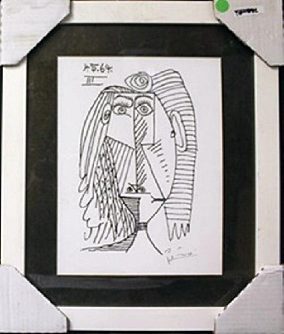 """""""4.5.64 III"""" after Pablo Picasso"""
