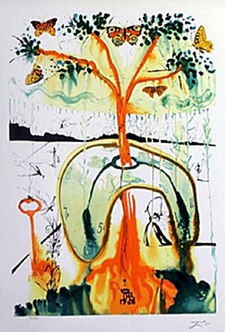 Lithograph - Alice in Wonderland 8, 1969 - Salvador