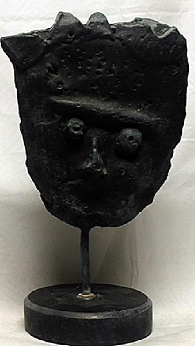 Patina Bronze Sculpture  F. Valls