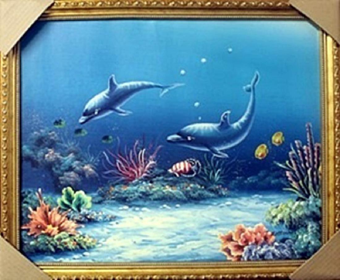 Original Oil on Canvas   T. Mattirson