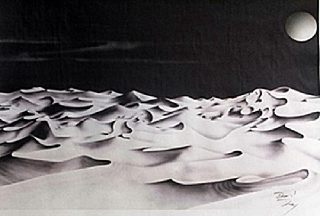Lithograph Vespers - David Dory
