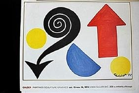 Lithograph  Alexander Calder