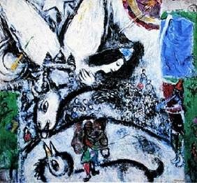 """""""The Large Circus"""" by Marc Chagall"""