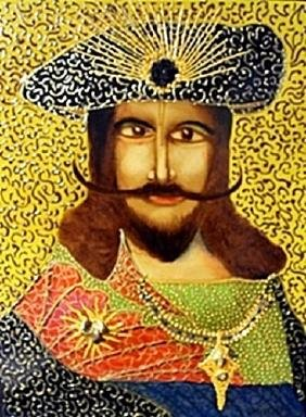"""""""King"""" Original Oil Painting   William Verdult"""