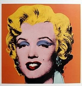 Print Orange Shot Marilyn - Andy Warhol