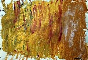 The Horn - Jack Tworkov - Oil On Paper