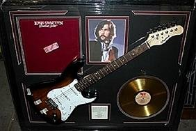Eric Clapton Signed Guitar & Memorabilia
