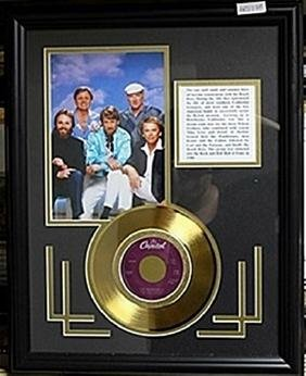 The Beach Boys with Gold Album AR5760