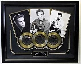 Elvis 3 Gold Records