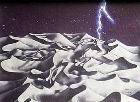 Lithograph Pegasus I - David Dory