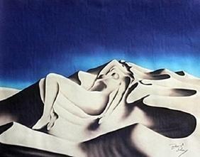 Lithograph Sapphire - David Dory