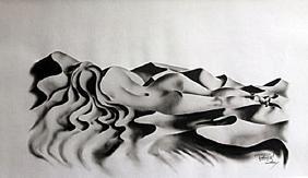 Lithograph Shy - David Dory