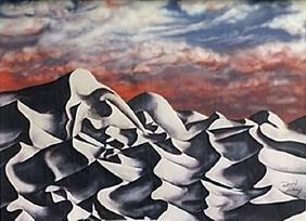 Lithograph Sunset - David Dory