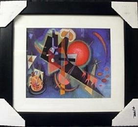 """In Blue"" after Wassily Kandinsky"