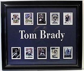 Tom Brady Memorabilia with 10 Licensed Photos