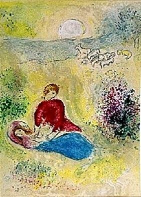 Marc Chagall - - The Little Swallow