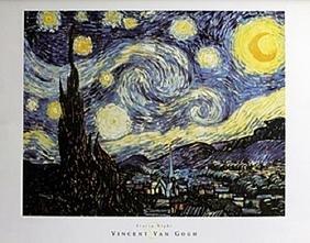 Print Starry Night - Vincent Van Gogh