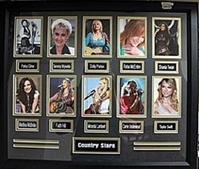 Female Country Stars Giclee AR5624