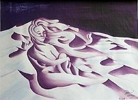 Lithograph Winter - David Dory