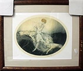 Lithograph After  Louis Icart