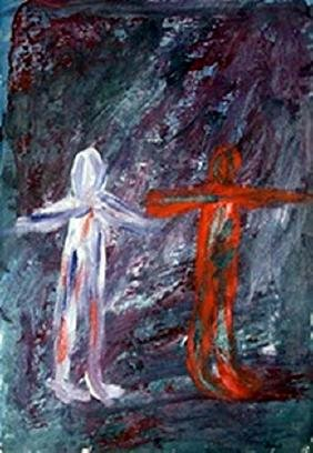 The Lovers - Milton Resnick - Oil On Paper