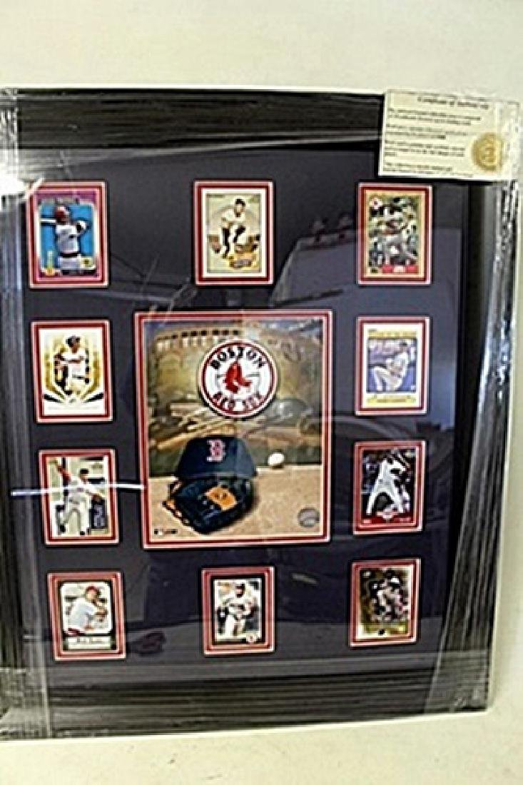 Boston Red Sox Framed Collectible